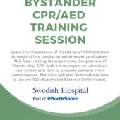 Bystander CPR / AED Training Session