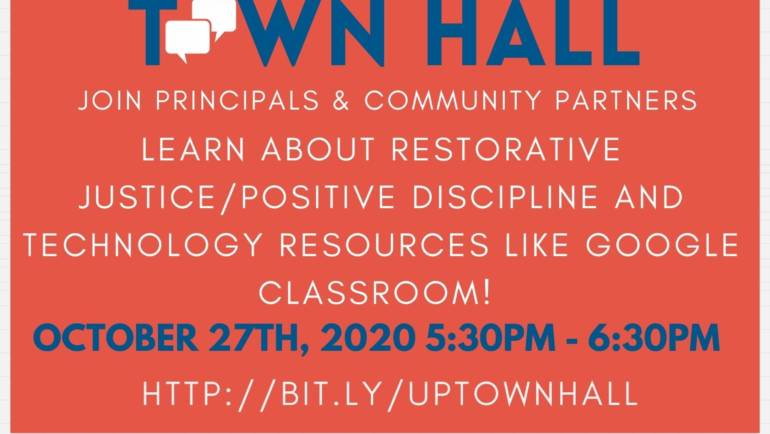 Virtual Town Hall: Uptown Schools Collaborative